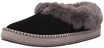 30aed138e44 UGG Women's Wrin Black Suede Slipper