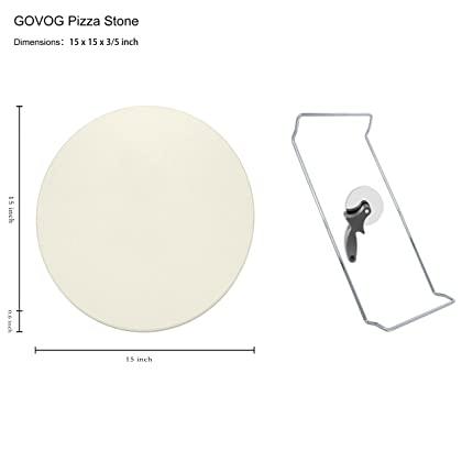 Pizza Stone for Oven 15 x 3/5