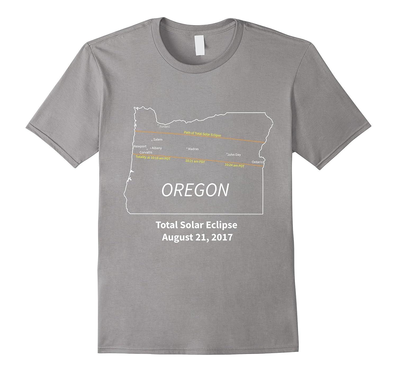 Oregon State Map Total Solar Eclipse T Shirt Bn Rateeshirt