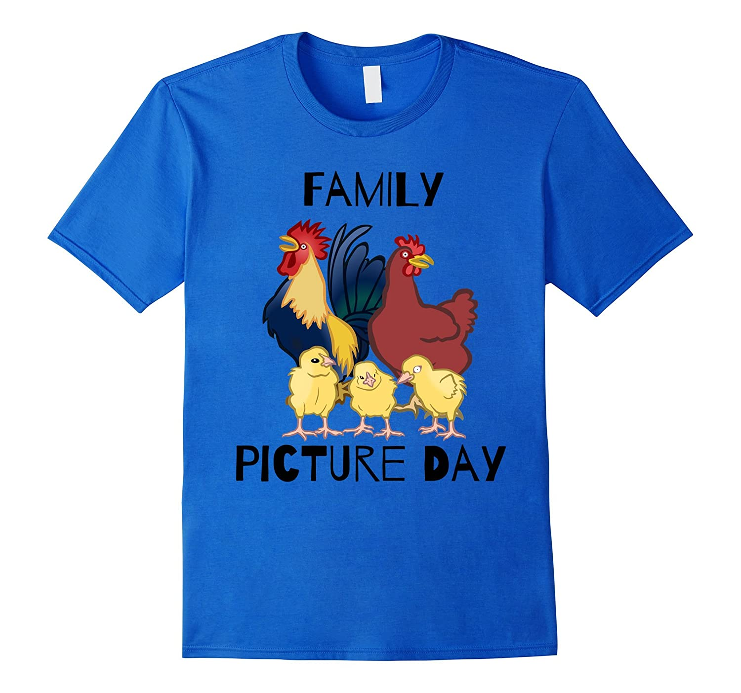 Funny Chickens t shirt Family Picture Frame T shirt-AZP