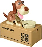 Liberty Imports My Dog Piggy Bank - Robotic Coin Munching Toy Money Box