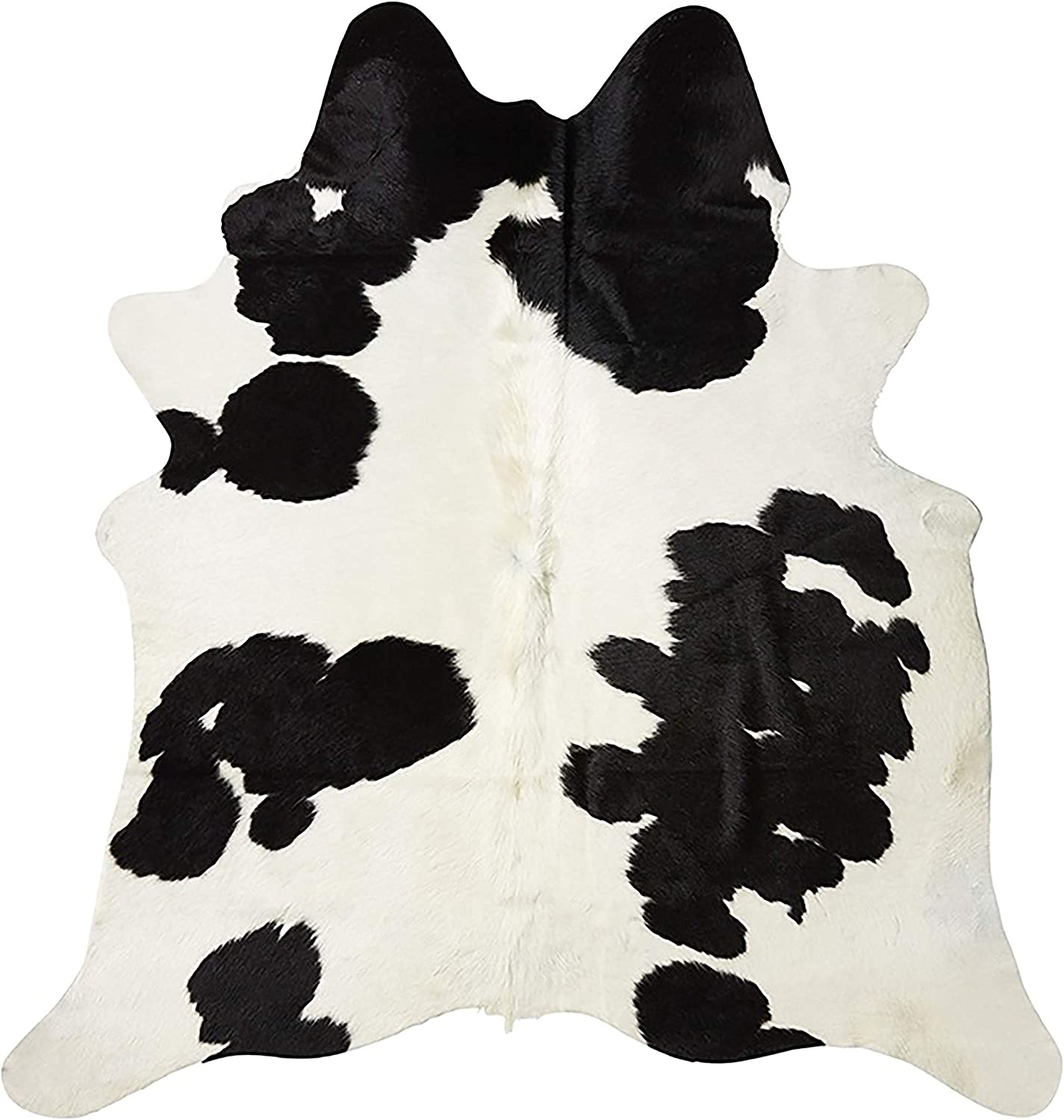 Real Cowhide Black White Patterns Assortment Pieces 8 cms x 15 cms Pack of 12