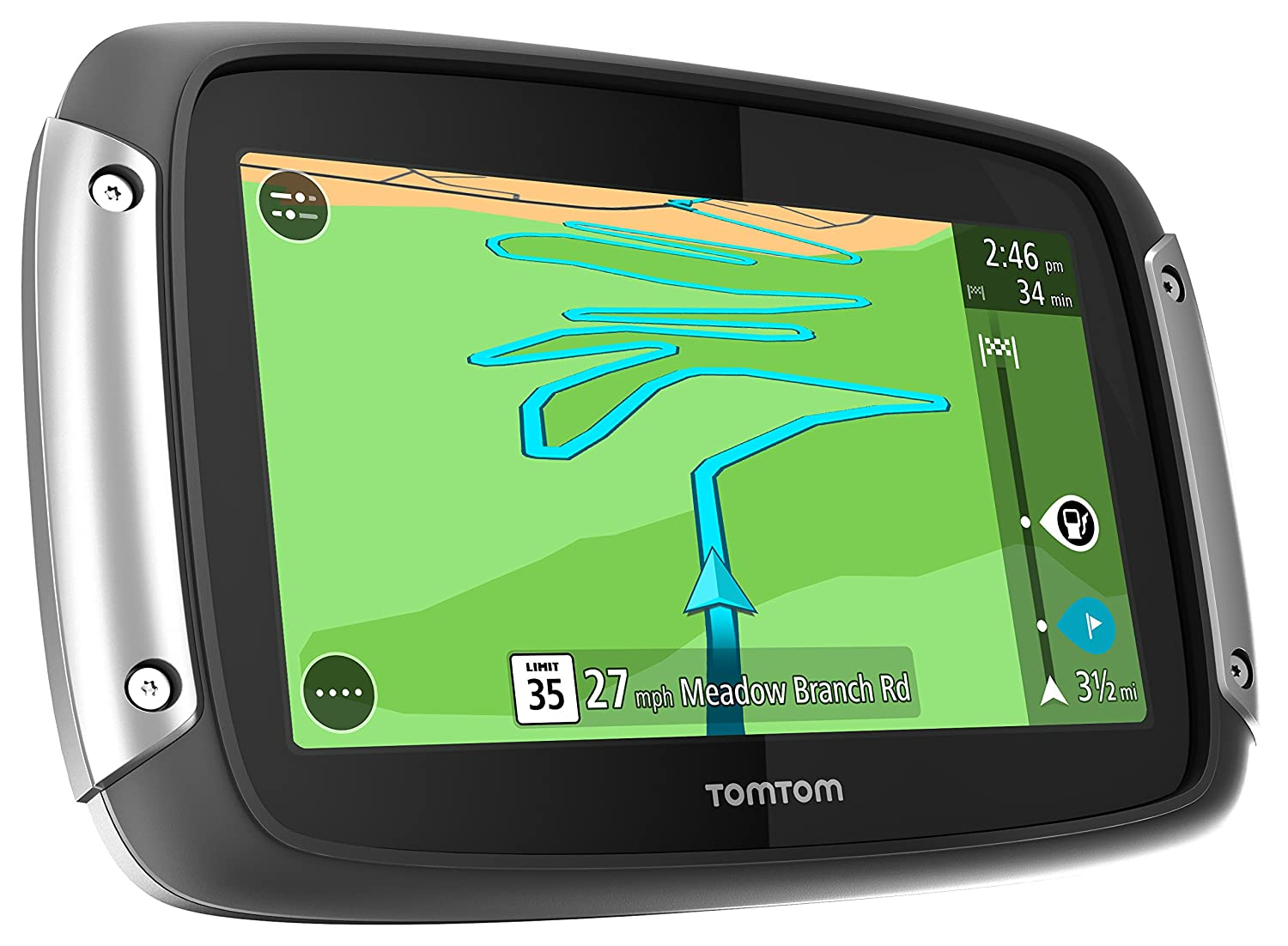 Tomtom Netherlands Map Download%0A Amazon com  TomTom Rider     Portable Motorcyle GPS  Motorcycle Navigator   Cell Phones  u     Accessories