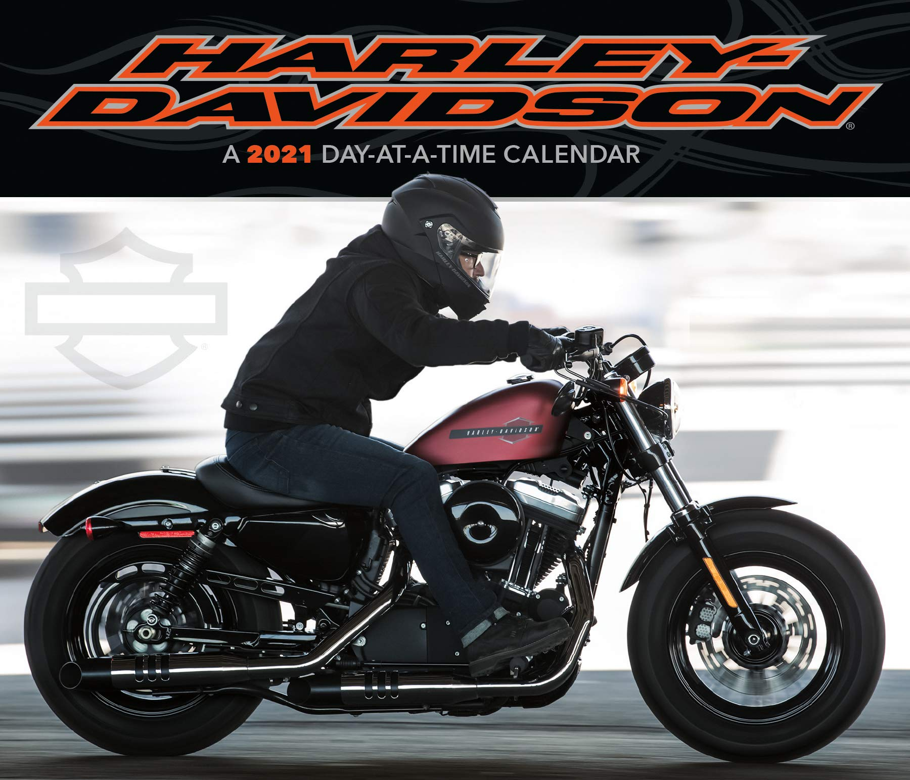 2021 Harley Davidson Day at a Time Box Calendar: Trends