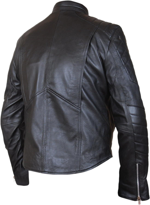 F/&H Mens Frank Castle Punisher Skull Biker Jacket