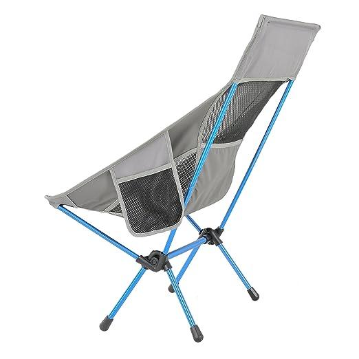 Amazon.com: Tohilico - Silla de acampada portátil y ligera ...