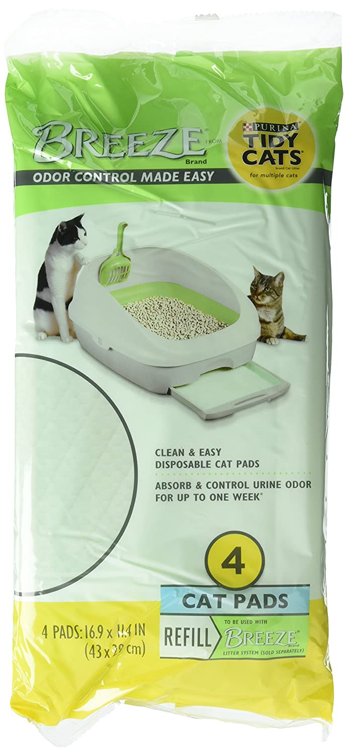 4-Pack of 4 Tidy Cat 12723X4 Cats Litter & Housebreaking Litter Box Liners