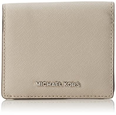 a26cfb7bf0f05 Image Unavailable. Image not available for. Color  Michael Kors Womens Jet  Set Leather Travel Card Case ...
