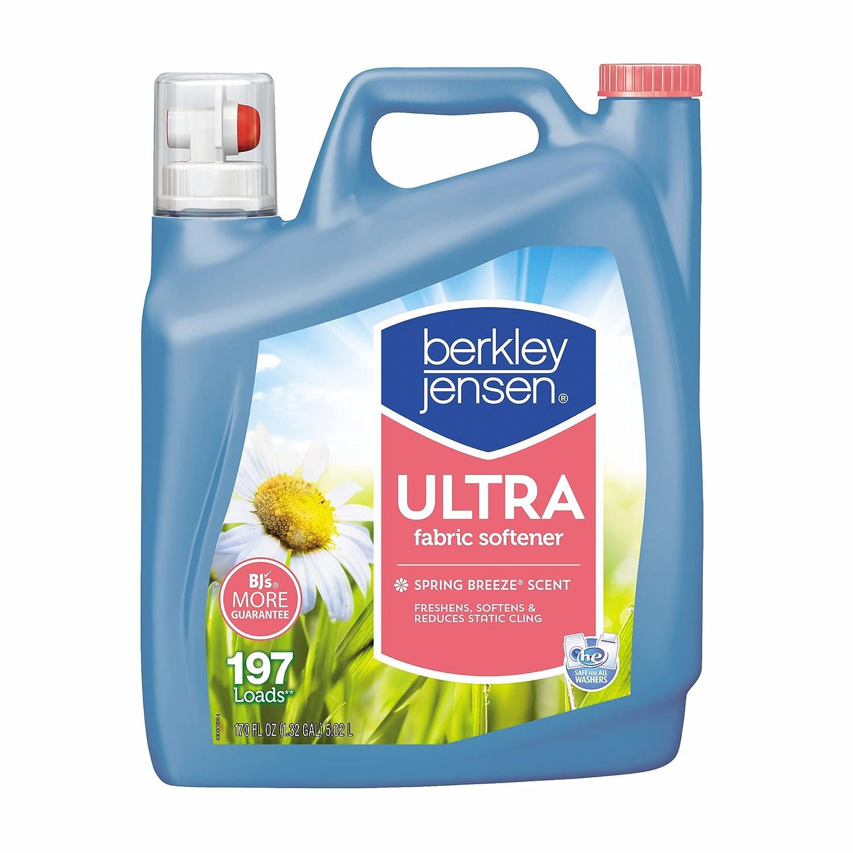Berkley Jensen Liquid Fabric Softener, 170 oz.
