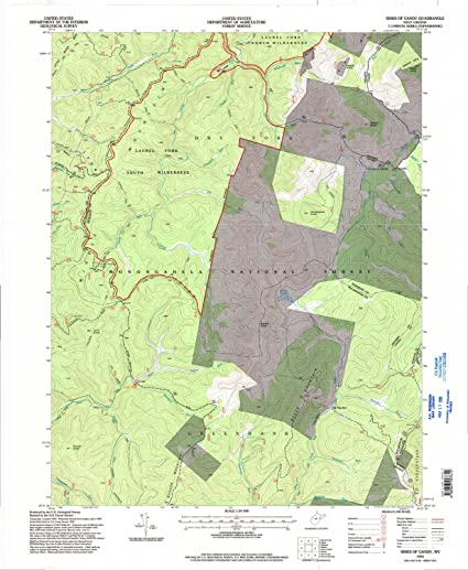Amazon.com : YellowMaps Sinks of Gandy WV topo map, 1:24000 ... on summit lake, cheat river, seneca rocks, smoke hole canyon, gaudineer knob, white top, mount porte crayon, osceola map, blackwater falls map, north fork mountain, cranberry wilderness, canaan valley, blackwater canyon, elk river, cranberry glades botanical area, black fork, greenbrier river, potomac river map, ark map, otter creek wilderness, spruce mountain, lake sherwood, backbone mountain, gauley river,