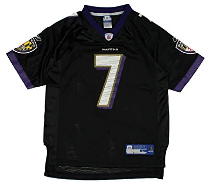 new products 16b73 89d25 Reebok Baltimore Ravens Kyle Boller #7 Nfl Youth Replica ...