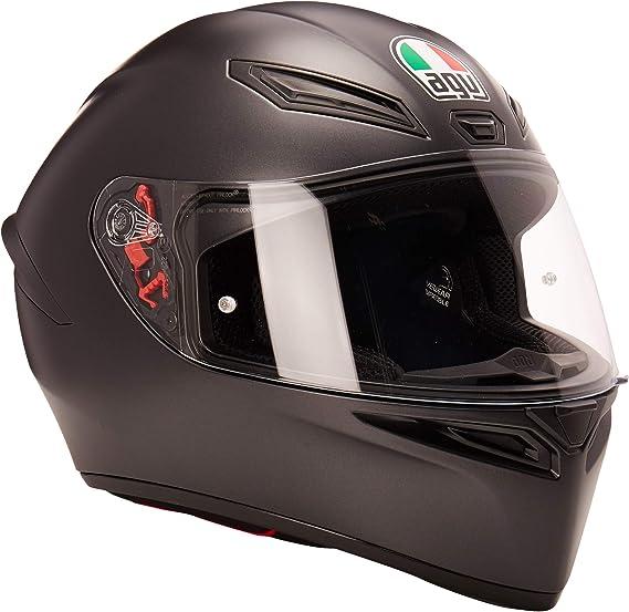 AGV Unisex-Adult Full Face K-1 Motorcycle Helmet (Matte Black