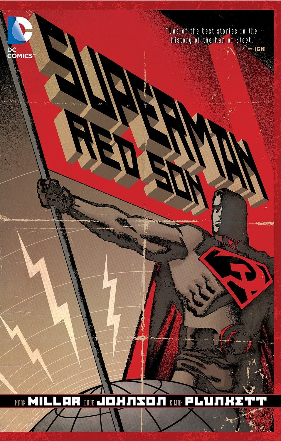 Amazon Com Superman Red Son New Edition 9781401247119 Millar Mark Johnson Dave Books