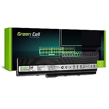 Green Cell® Standard Serie A32-K52 Batería para Asus A52F A52J A52N B53 K42