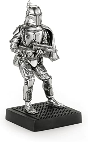 Royal Selangor Hand Finished Star Wars Collection Boba Fett Figurine – Officially Licensed