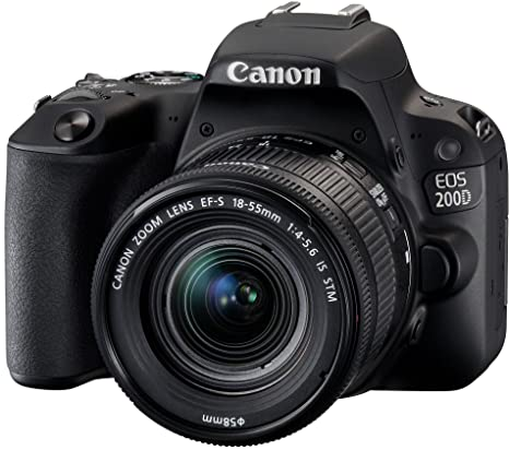 Canon EOS 200D + EF-S 18-55mm f/4-5.6 IS STM + EF 50mm f/1.8 STM ...