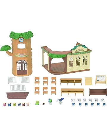 Sylvanian Families - 5105 - Ecole de la Foret - Maison de Poupée c9c4b7405150