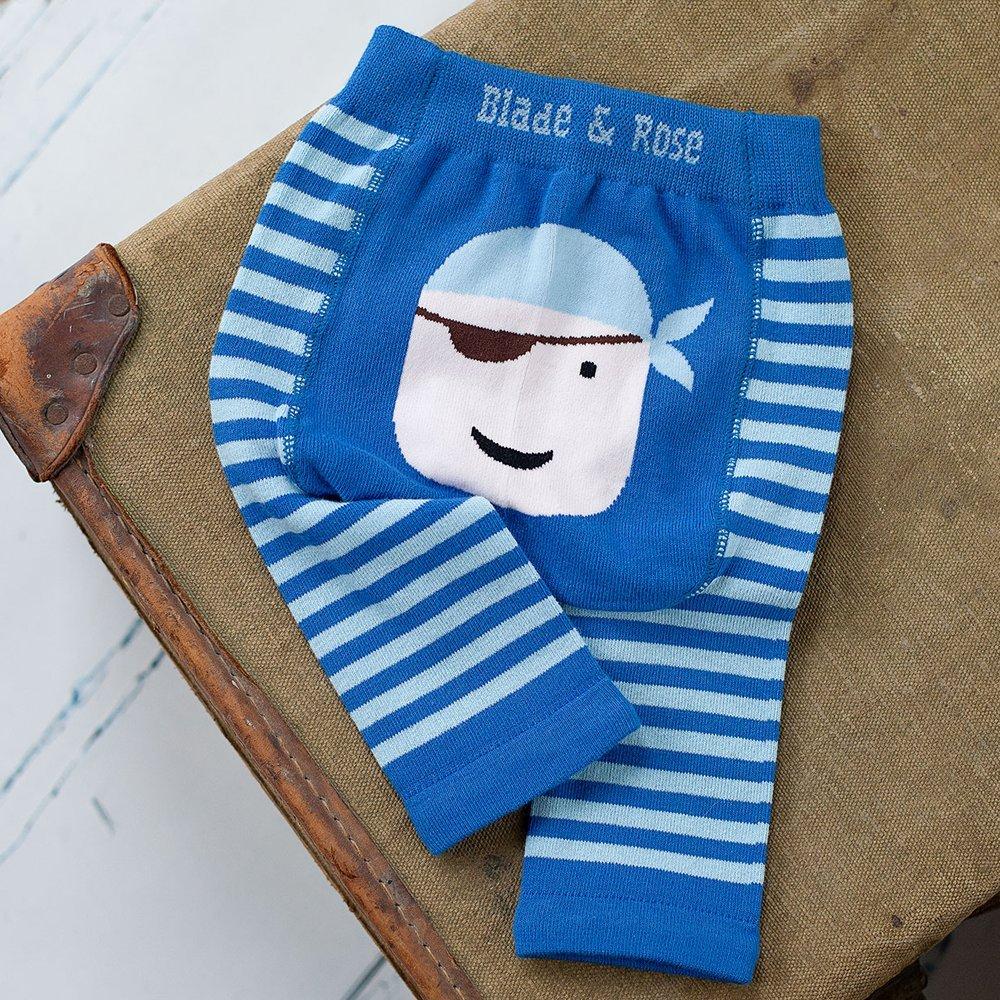 & Rose-leggings dei pirati Blu blu 0-6 mesi blade and rose 80073-$P