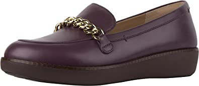 41318a2f16ba04 FitFlop™ Paige™ Chain Leather Loafers