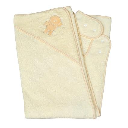 Clevamama Splash And Wrap Baby Bath Towel Hood Cream Amazon Ca Baby