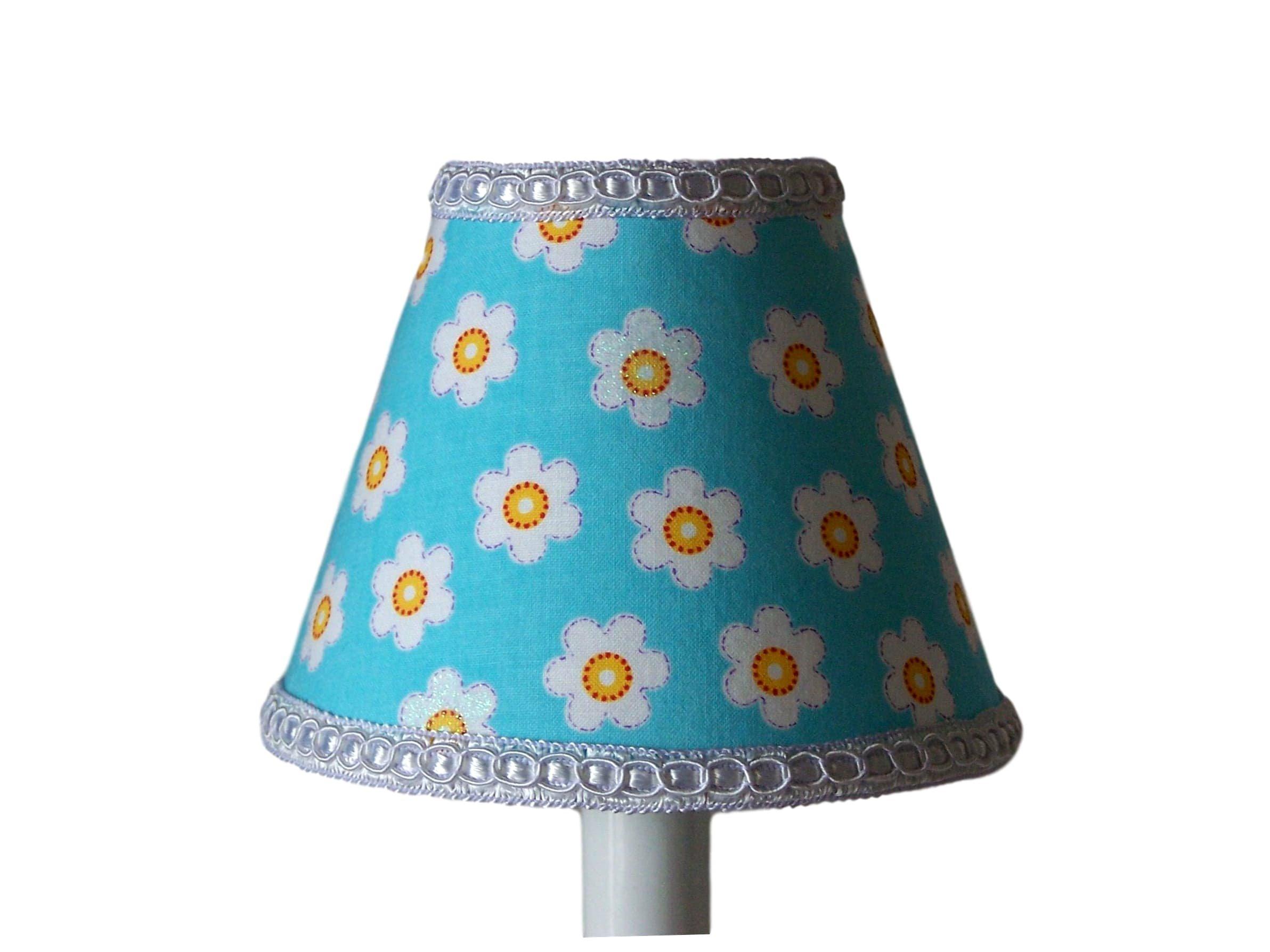 Silly Bear Lighting Poppy Love Lamp Shade, Blue