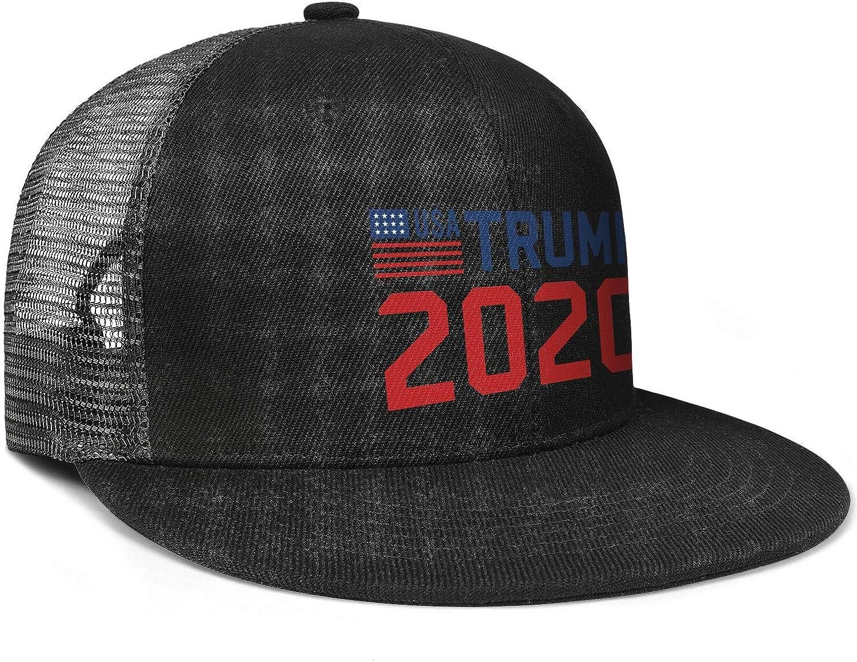 JDHASA Trump-2020-face-Toilet Mens Snapback Hat Baseball Caps Summer Hats