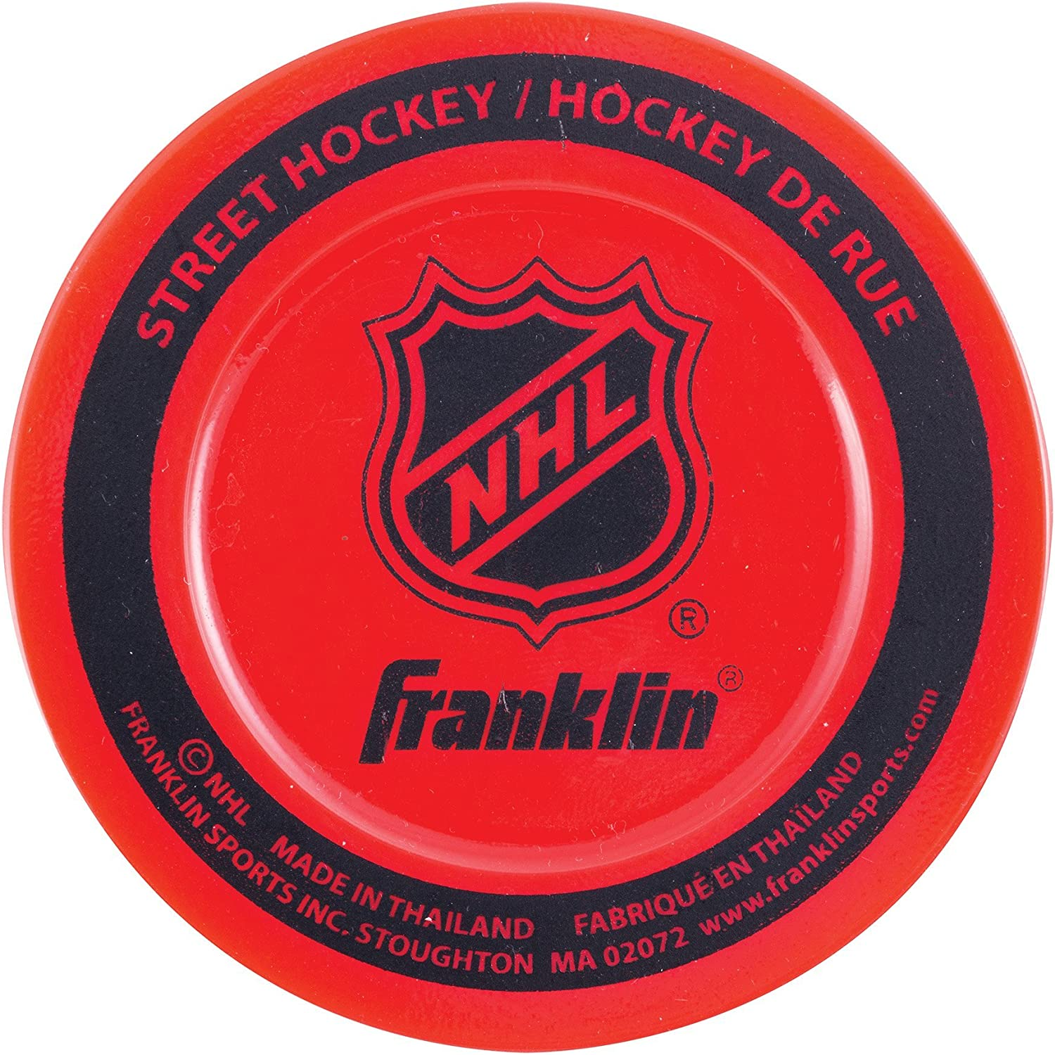 Franklin Sports Street Hockey Puck - NHL - Colors May Vary : Sports & Outdoors