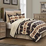 Multi King HiEnd Accents Chalet Quilt Set