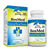 Terry Naturally BosMed Intestinal Bowel Support - 400 mg Boswellia Complex, 60 Softgels...