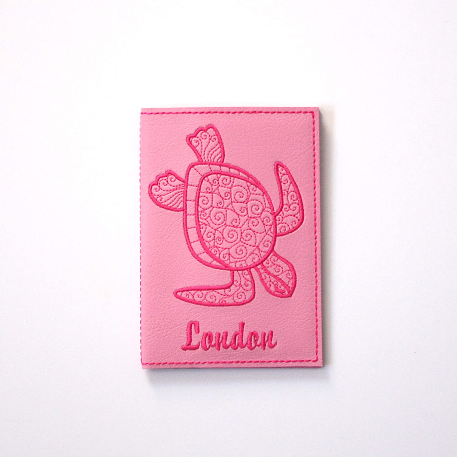 Turtle Passport Cover Made in the USA