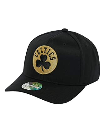 Mitchell & Ness Mujeres Gorras/Gorra Snapback The Black And Golden ...