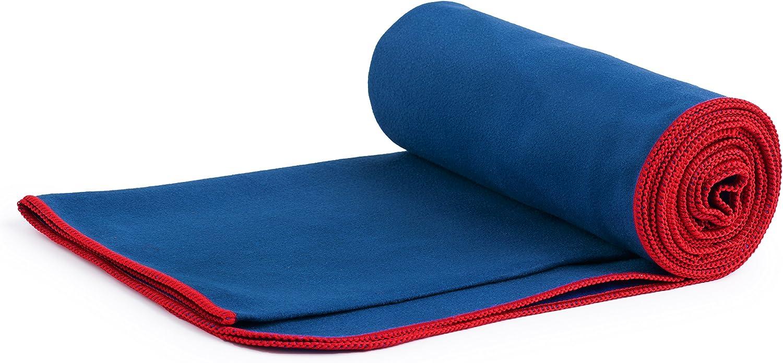a Hacer Yoga de Viaje o a la Playa Fit-Flip Toalla de Microfibra Ligera y de r/ápido Secado Funciona Mejor como una Toalla Funcional para IR a Nadar
