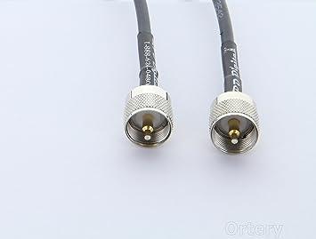 Nos Made coaxial – veces microondas LMR-240 Cable Coaxial 4 pies de jamón o