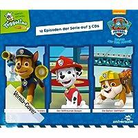 PAW Patrol Hörspielbox 1: 12 Episoden auf drei CDs