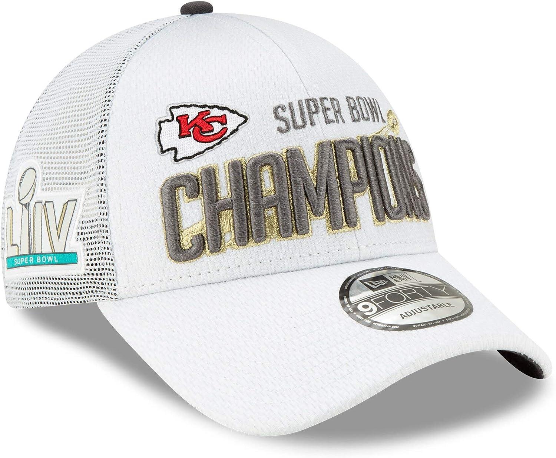 New Era Kansas City Chiefs Super Bowl 2020 Adjustable 9Forty Cap