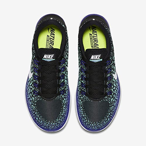 3baae54497e3 Nike Women s Free RN Distance - Persian Violet Black-Green Glow-Volt - 7.5   Amazon.in  Shoes   Handbags