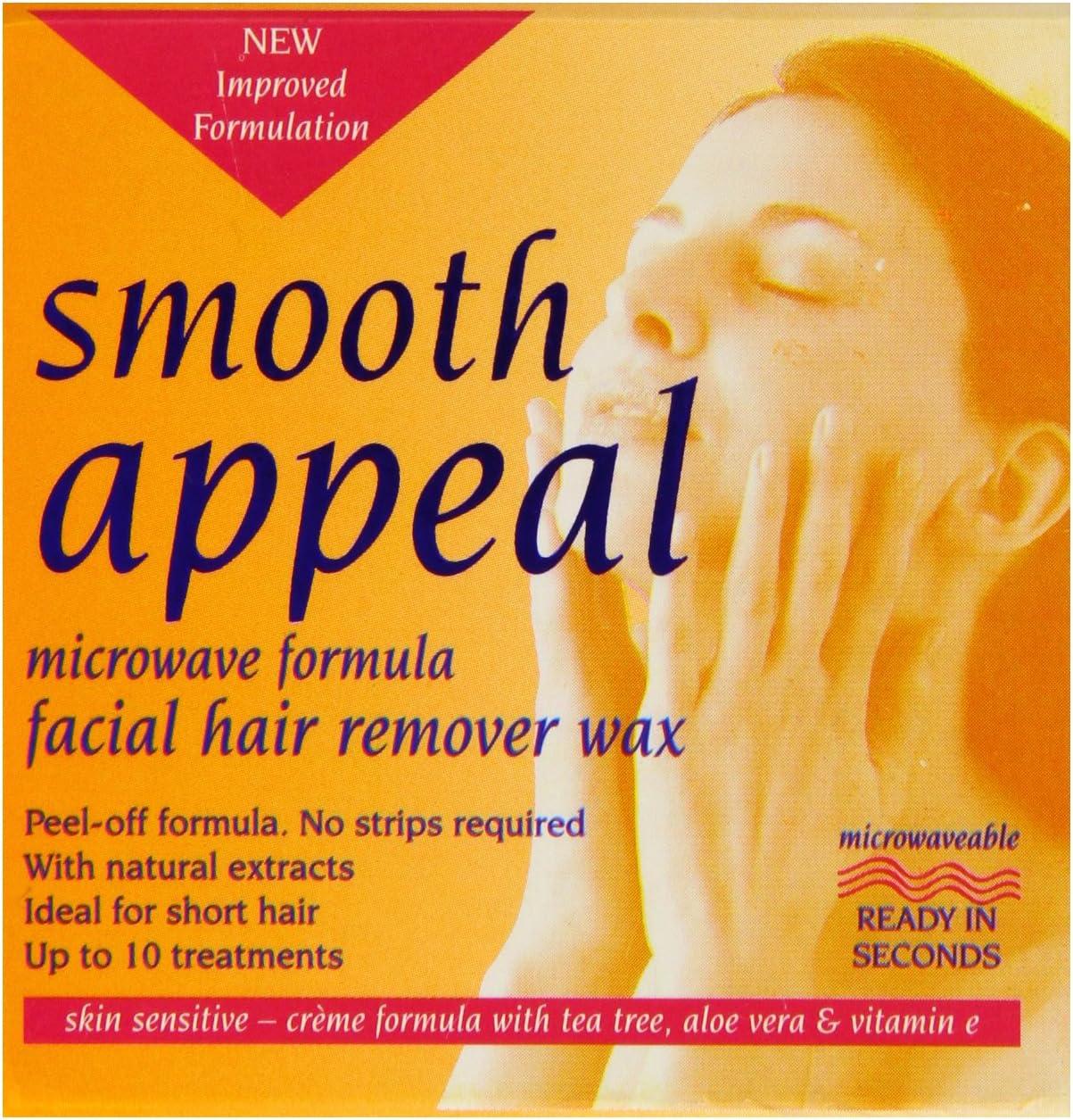 Recurso suave 40 g Microondas Fórmula Pelo facial removedor de ...