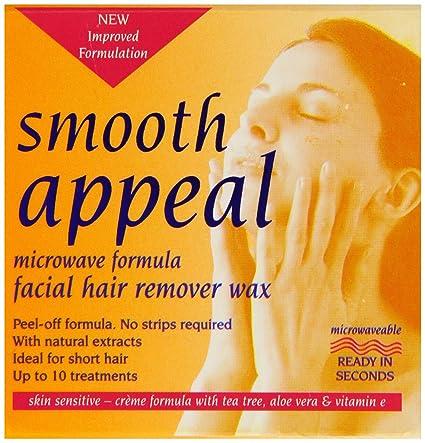 Recurso suave 40 g Microondas Fórmula Pelo facial removedor de cera