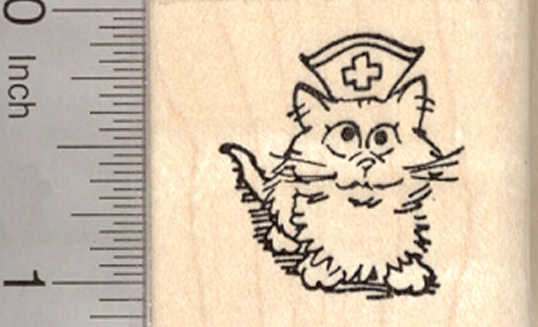 【全品送料無料】 Get Rubber Well Cat Rubber Stamp, Get Kitten Nurse Nurse B00IK3VQ3Y, 東広島市:383a977f --- diceanalytics.pk