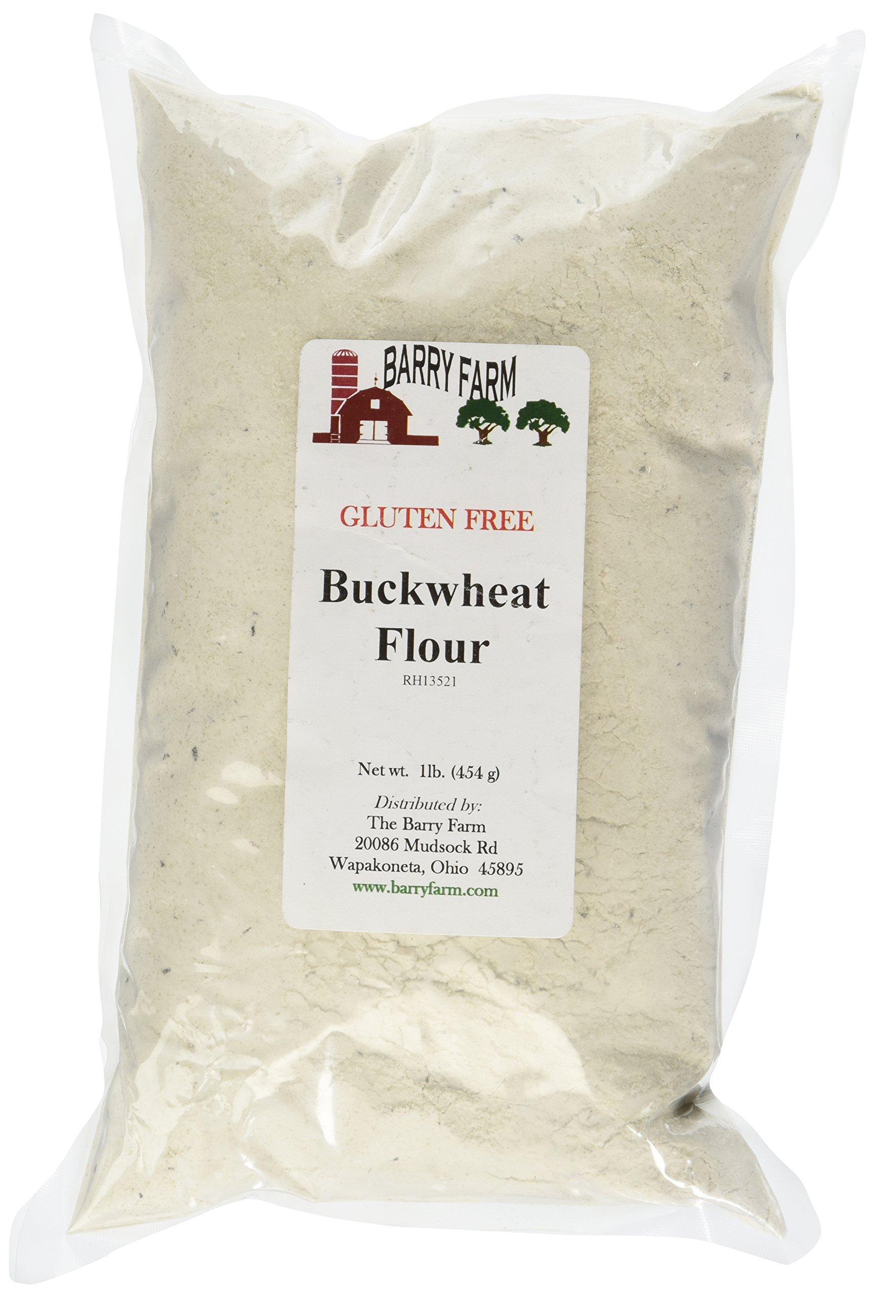 Buckwheat Flour, GF, 1 lb. by Barry Farm
