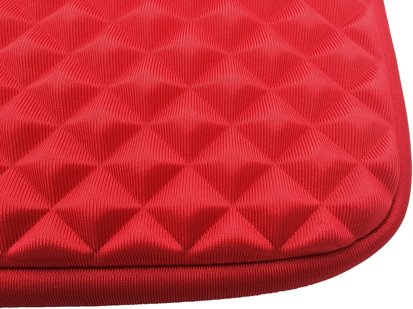 For Toshiba AZ-Cover 13.3-Inch Case Simplicity /& Stylish Diamond Foam Shock-Resistant Neoprene Sleeve Satellite Click 2 2-in-1 13.3 Touch-Screen Laptop Red
