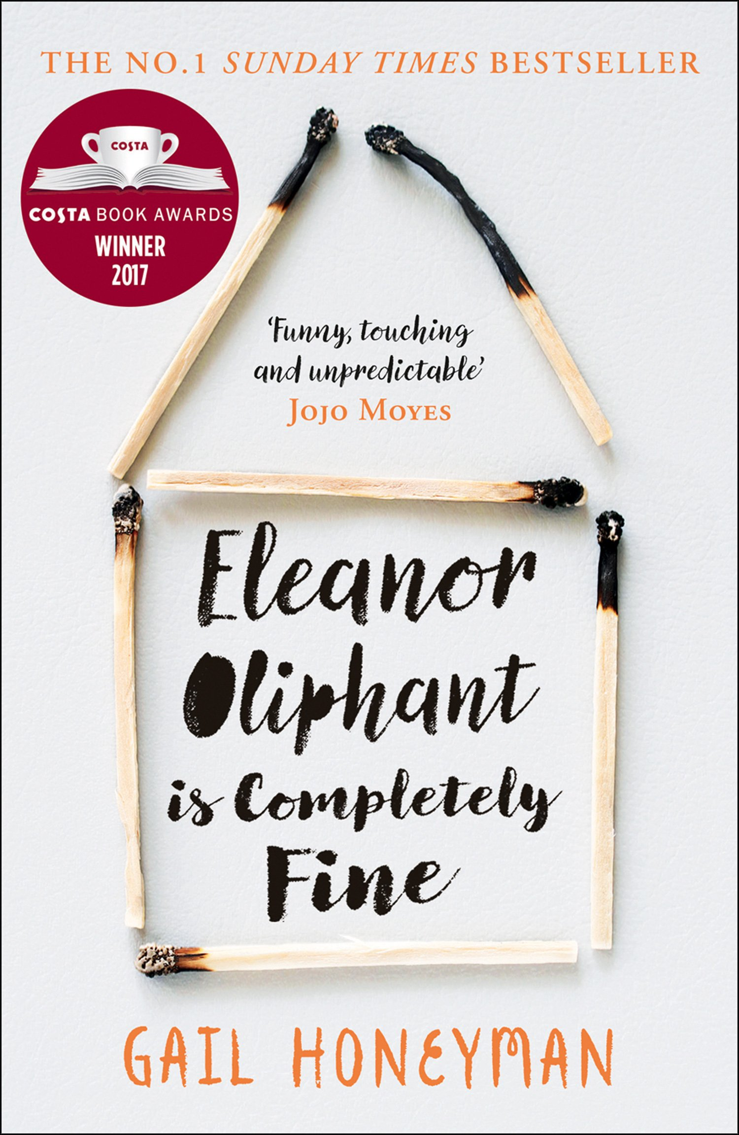 Buy ELEANOR OLIPHANT IS COMPLETELY FINE by Gail Honeyman