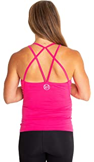 78c78934b3fa8 movemama Maternity to Postpartum Workout and Yoga Top with Cross Back Detail