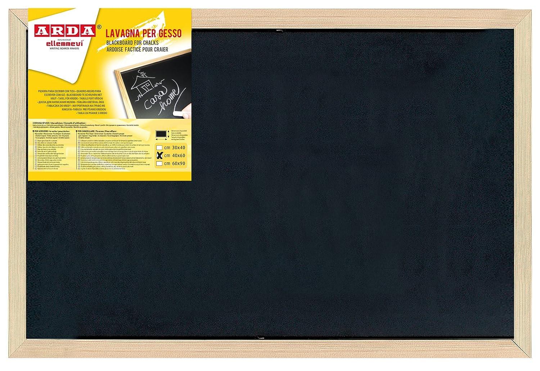 Arda 872 Lavagna per il Gesso, 40 X 60 cm, Nero Arda SPA