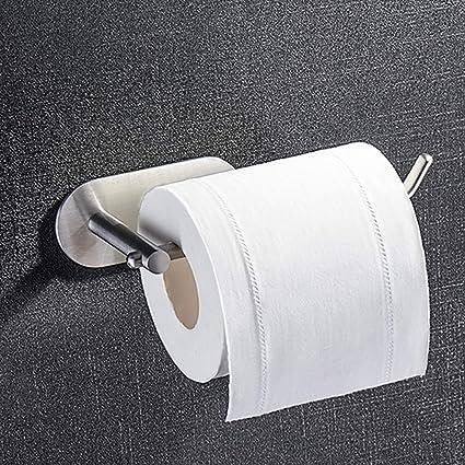 ZUNTO Portarrollos Baño Autoadhesivo Portarrollo para Papel Higiénico para Baño Acero Inoxidable