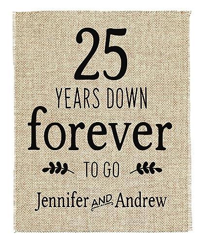 Amazon 25th Anniversary Gift 25th Wedding Anniversary Gift