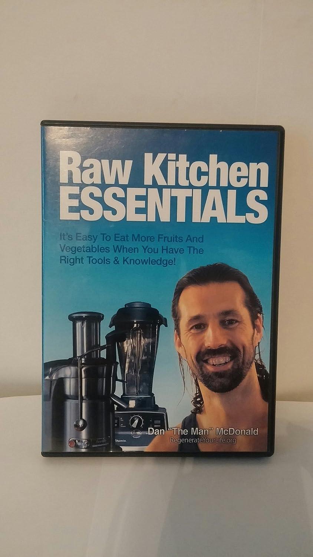 Amazon.com: Dan McDonald Raw Kitchen Essentials DVD Its easy to eat ...