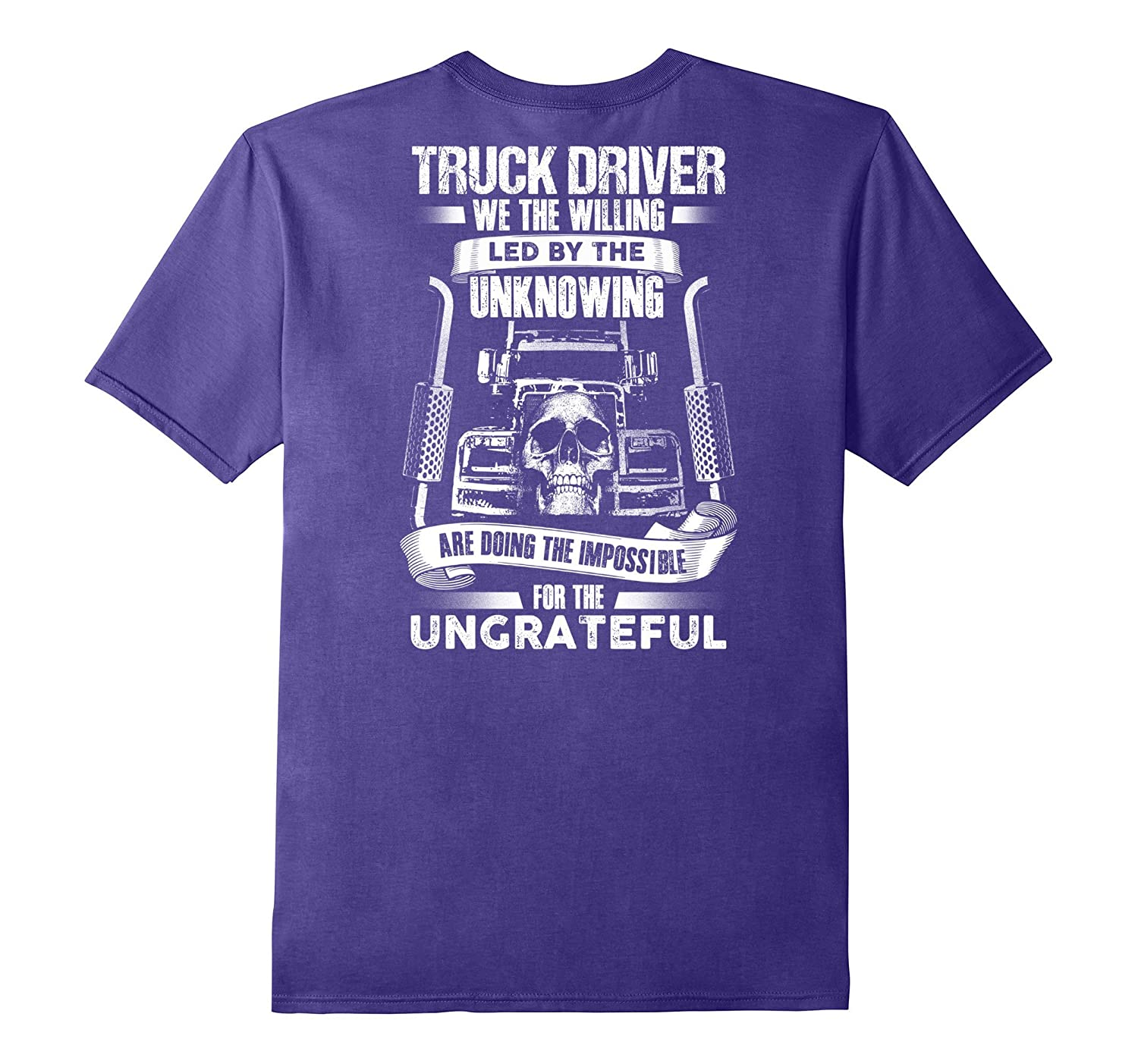 DRIVERs Truckers Trucking T Shirt Backside-Newstyleth