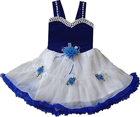 825445afd MPC Cute Fashion Baby Girl s Velvet and Soft Net Frock Dress for ...