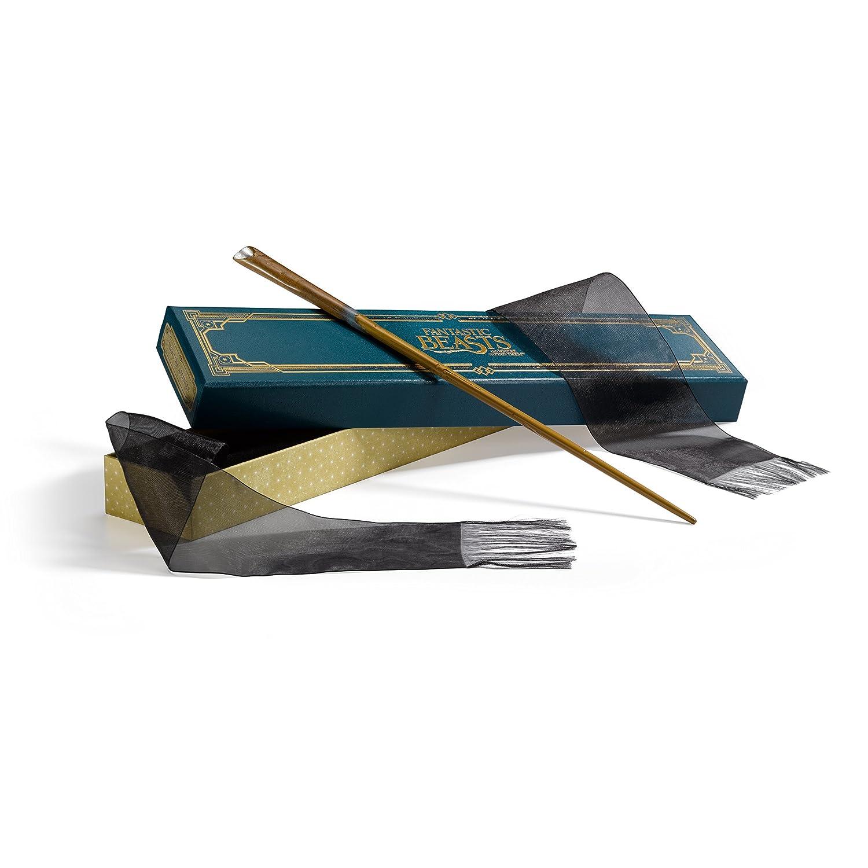 Varita De Newt Scamander Caja Original, The Noble Coll. Xmp
